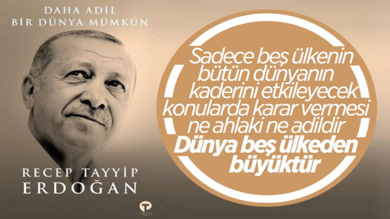 Erdoğan'ın yazdığı kitap satışa çıkmadan gündem oldu