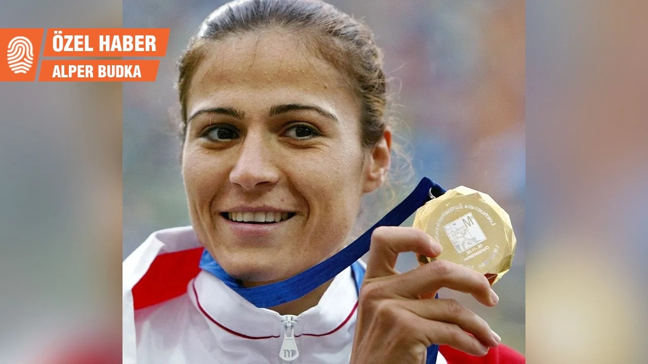 Eski milli atlet Süreyya Ayhan, öğretmen olarak bir ortaokula atandı
