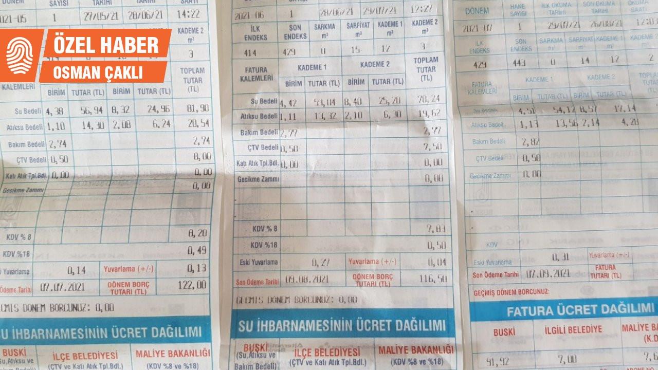 'Bursa'da suya her ay zam yapılıyor'