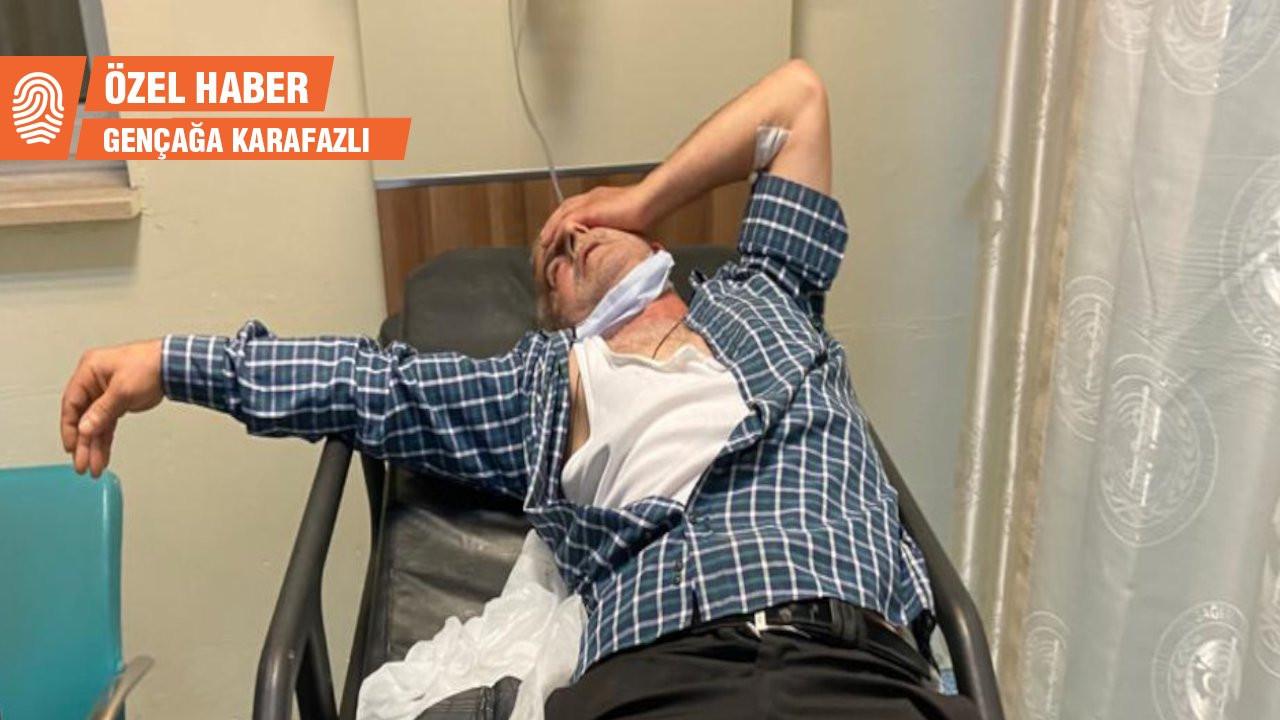 Rize'de ekonomiyi eleştiren Sancaktutan saldırıya uğradı