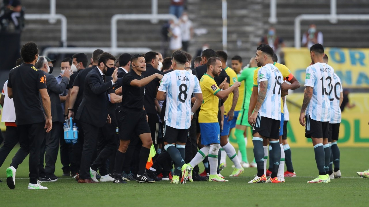 FIFA, Brezilya-Arjantin maçına ilişkin disiplin soruşturması başlattı