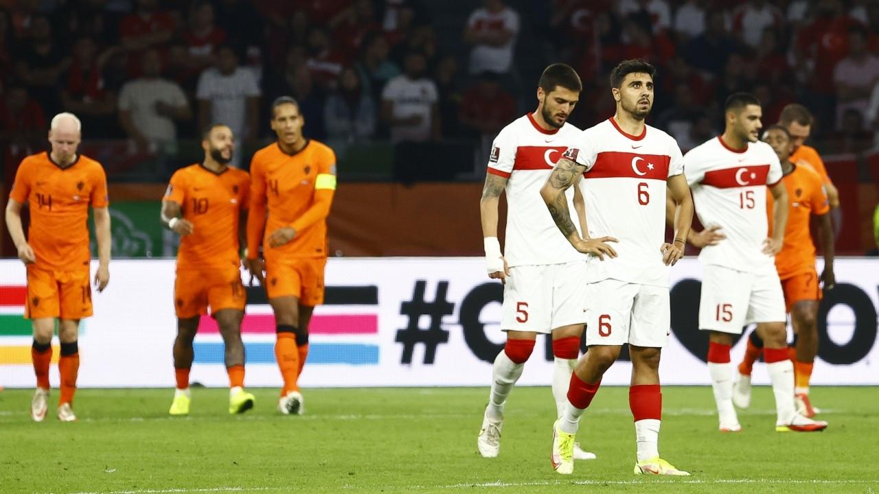 Türkiye, Hollanda'ya farklı yenildi