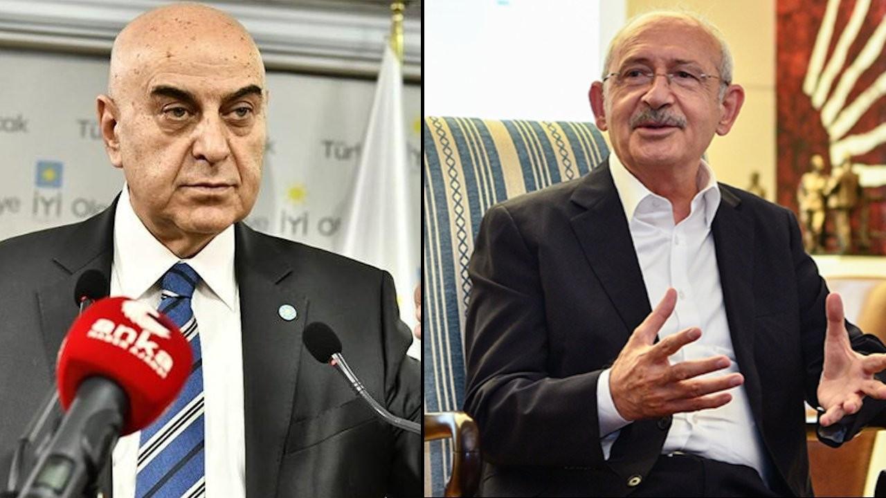 İYİ Parti'den CHP eleştirisi: Bize sordunuz mu?