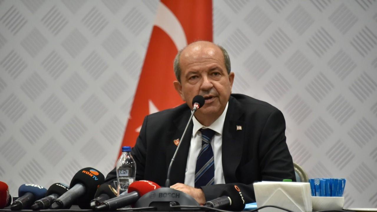 KKTC Cumhurbaşkanı Tatar: Akıncı'ya göre Tatar Ankara'nın papağanıdır
