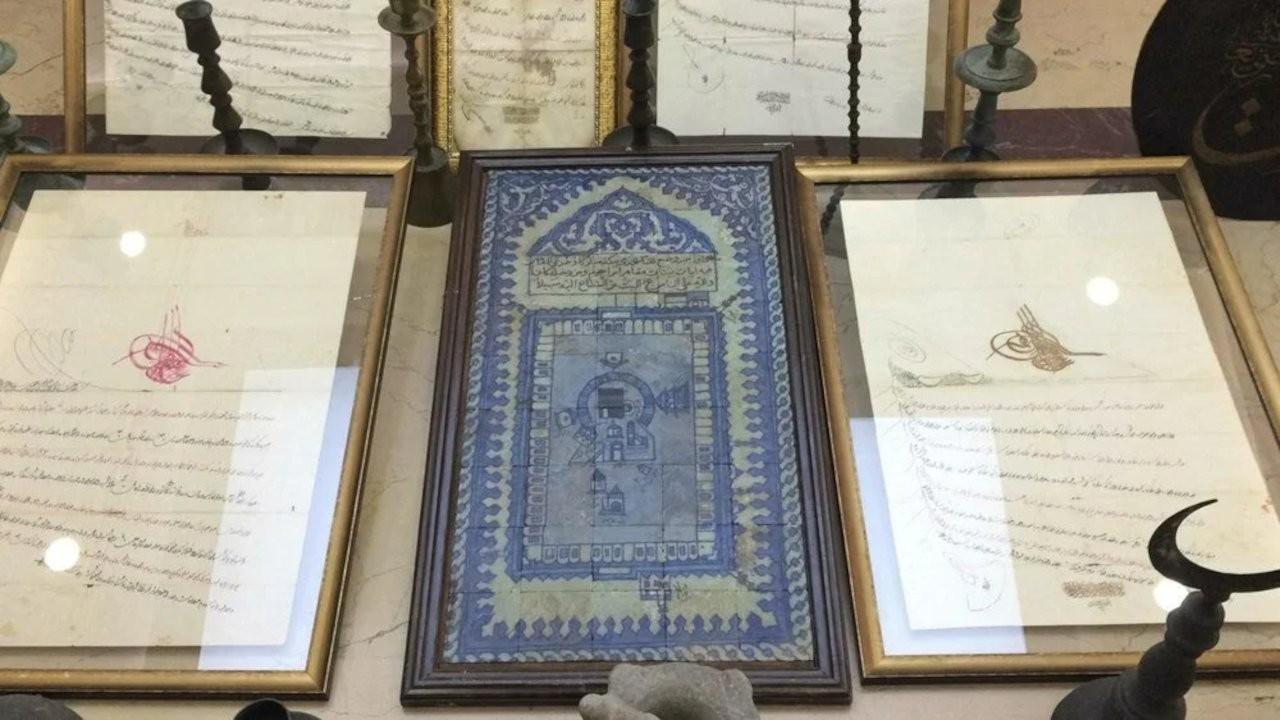 Şehzade Mustafa'nın eşyaları ve 88 tarihi eser ele geçirildi