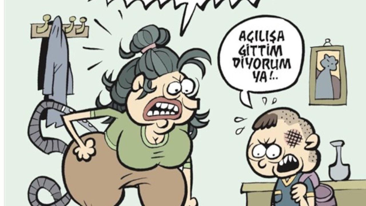 Cumhurbaşkanı Erdoğan'ın kafasına vurduğu çocuk, Uykusuz'un kapağında