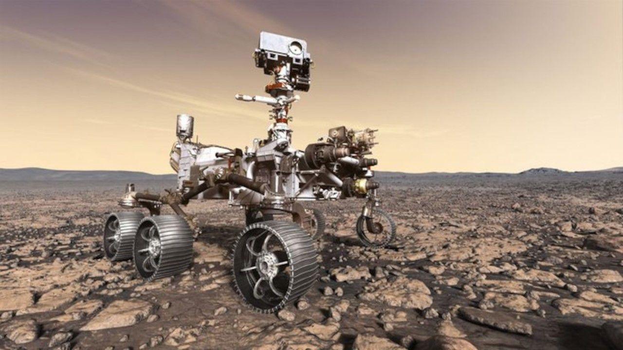 Mars'tan ilk kaya örneği alındı - Sayfa 4