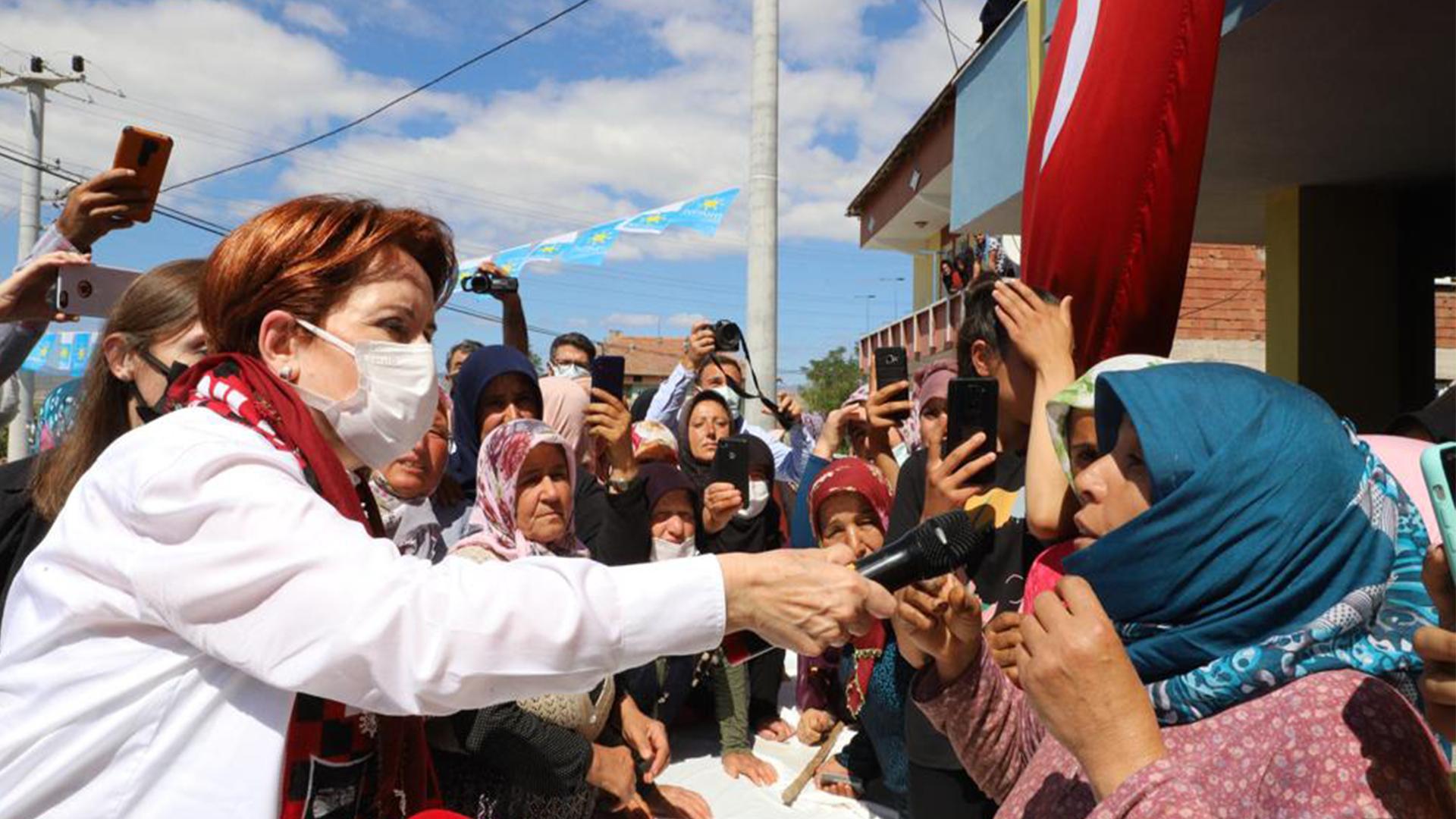 Köylüden Akşener'e: Burada savaş vardı, geçim savaşı