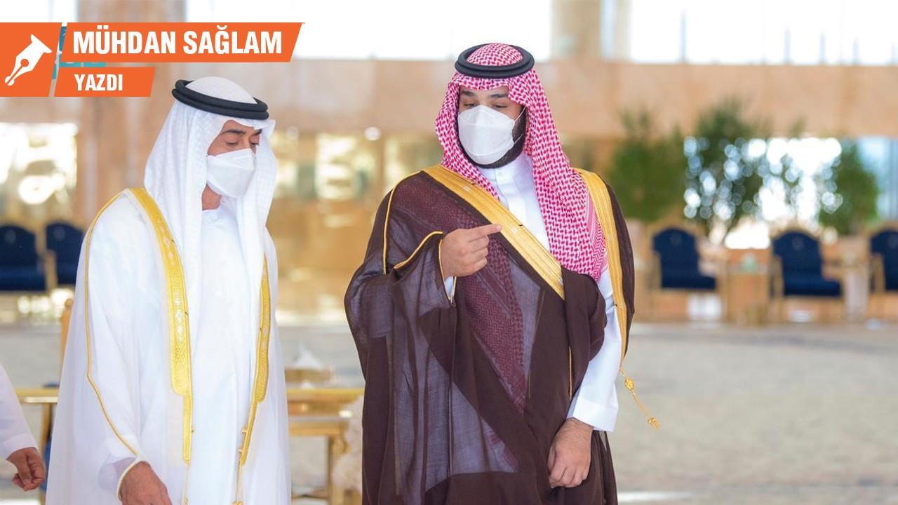 Veliaht Prens Salman Veliaht Prens Nahyan'a karşı