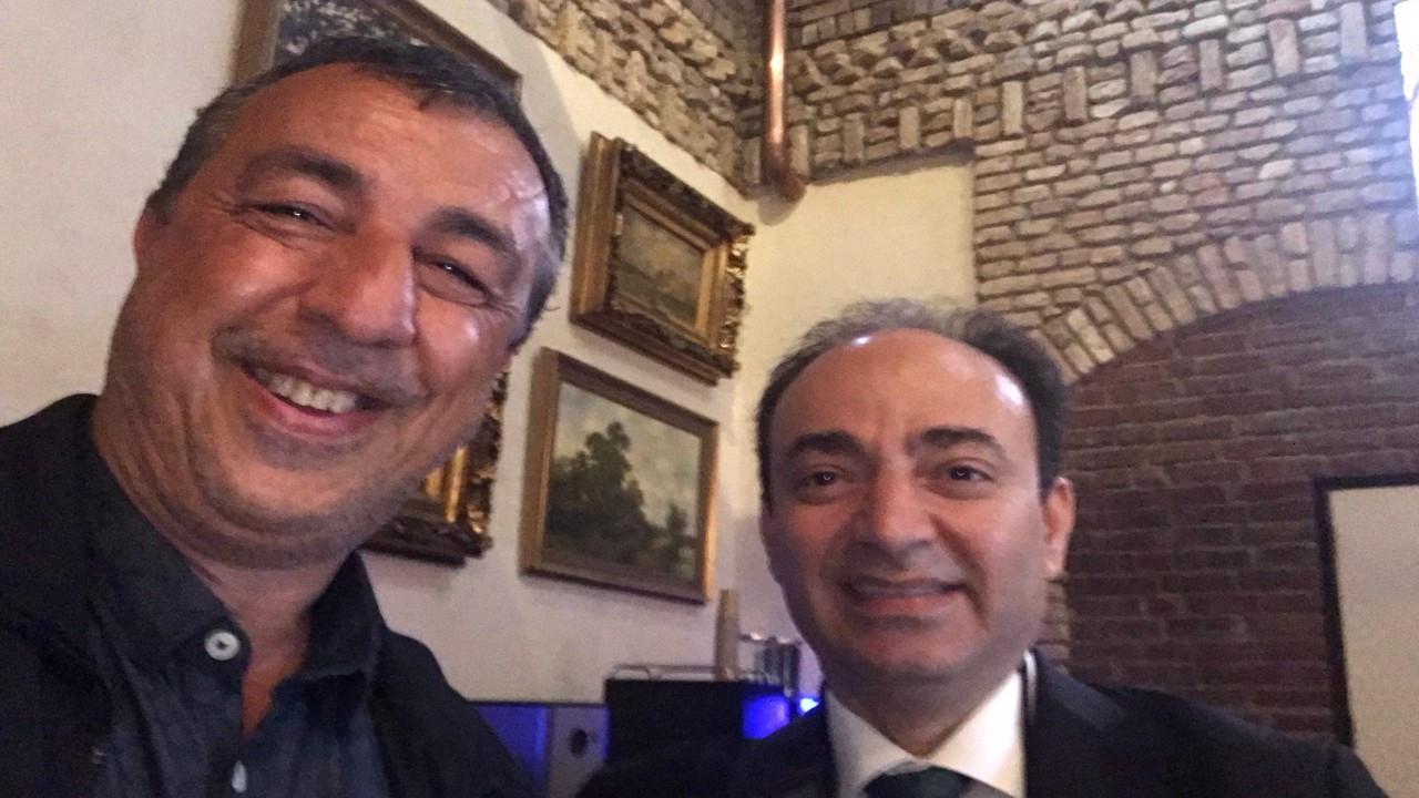 Abdullah Demirbaş ve Osman Baydemir'in 'sürgün buluşması'