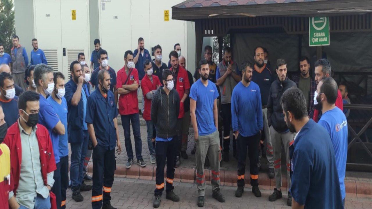 Sendikalı oldukları için işten çıkarılan 140 işçi direnişe geçti