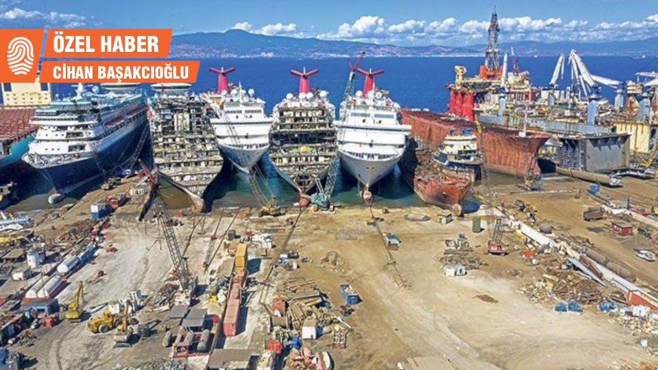 Gemi söküm bölgesinde asbest lifi bulundu, tartışma yeniden başladı