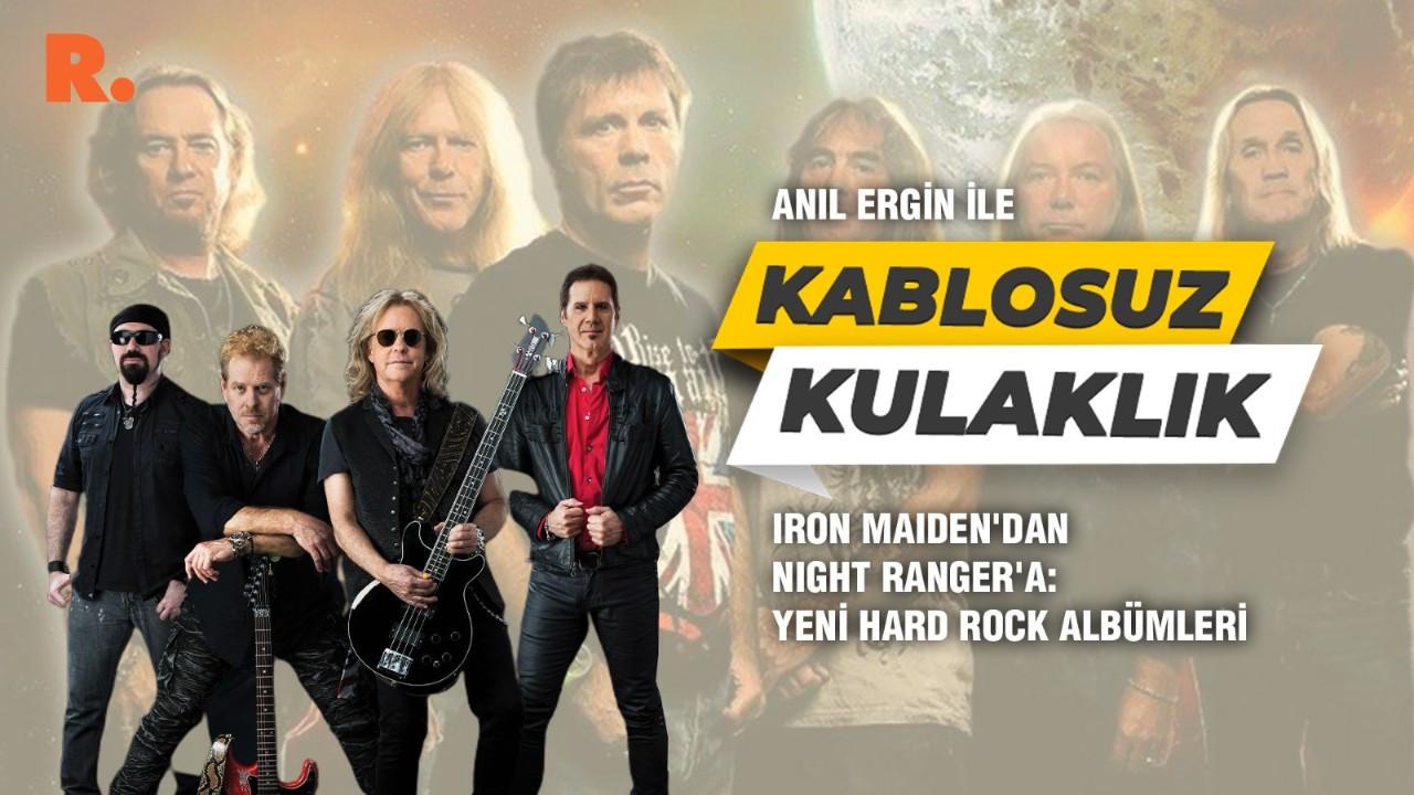 Iron Maiden'dan Night Ranger'a: Yeni hard rock albümleri