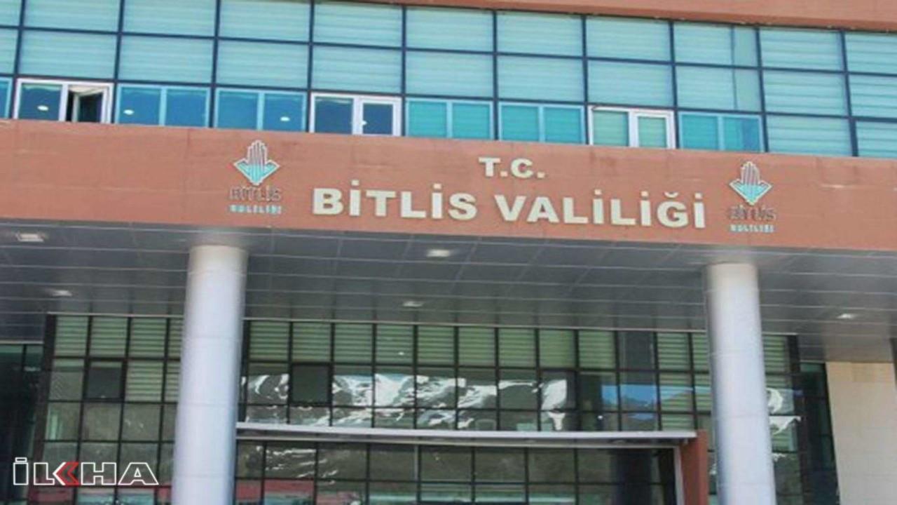 Bitlis'e bağlı 9 köy ve mezrada sokağa çıkma yasağı