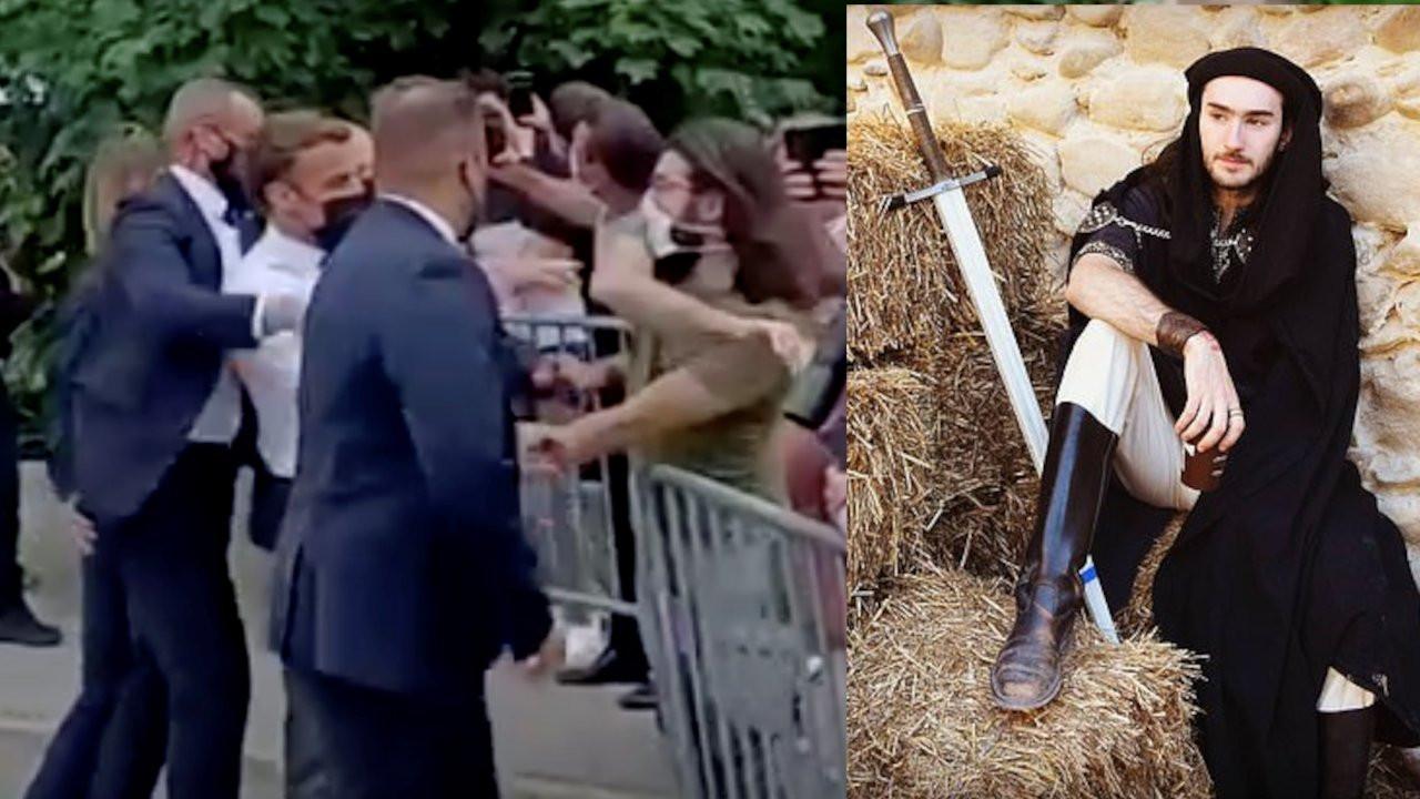 Macron'a tokat atan genç hapisten çıktı: Pişman değilim
