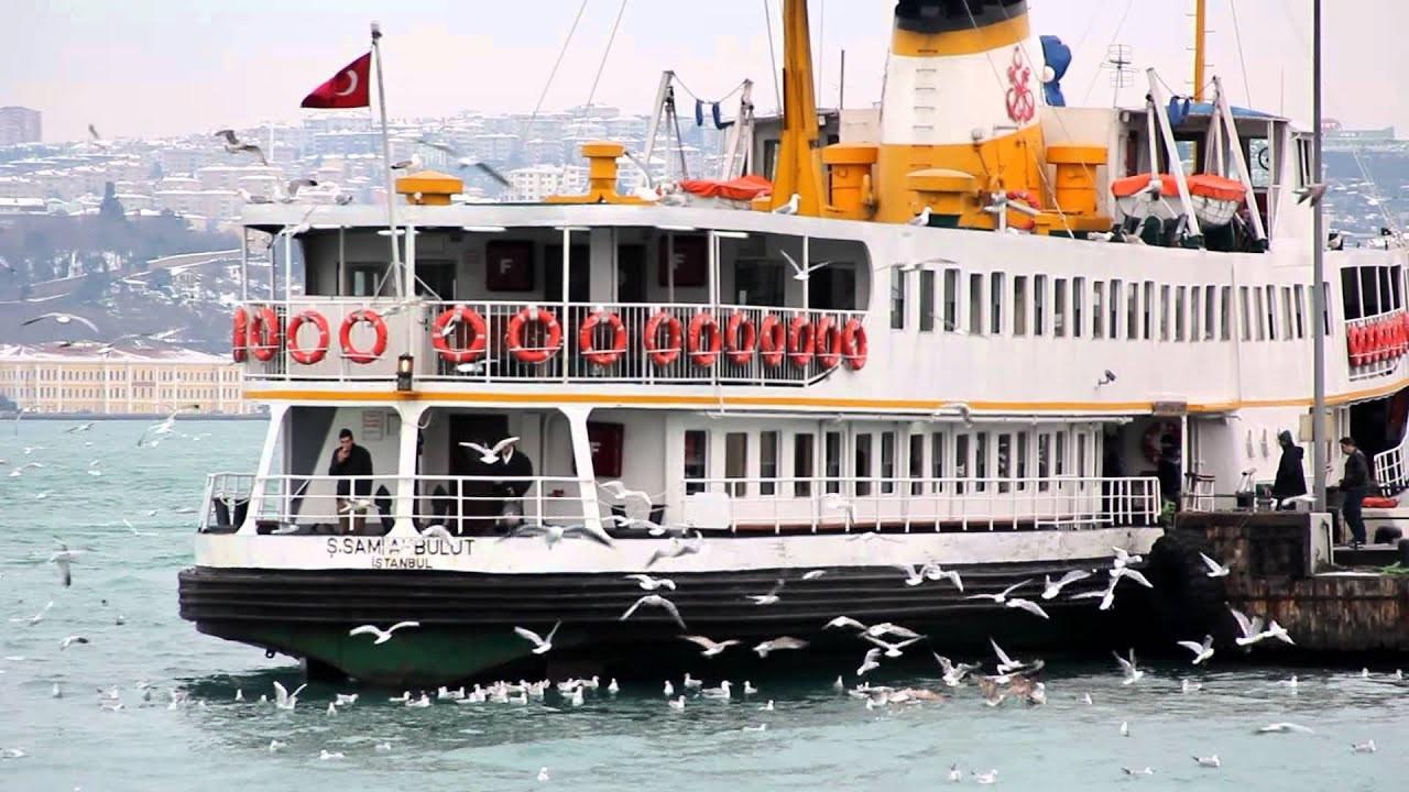 İstanbul'da vapurlar 2 saat çalışmayacak