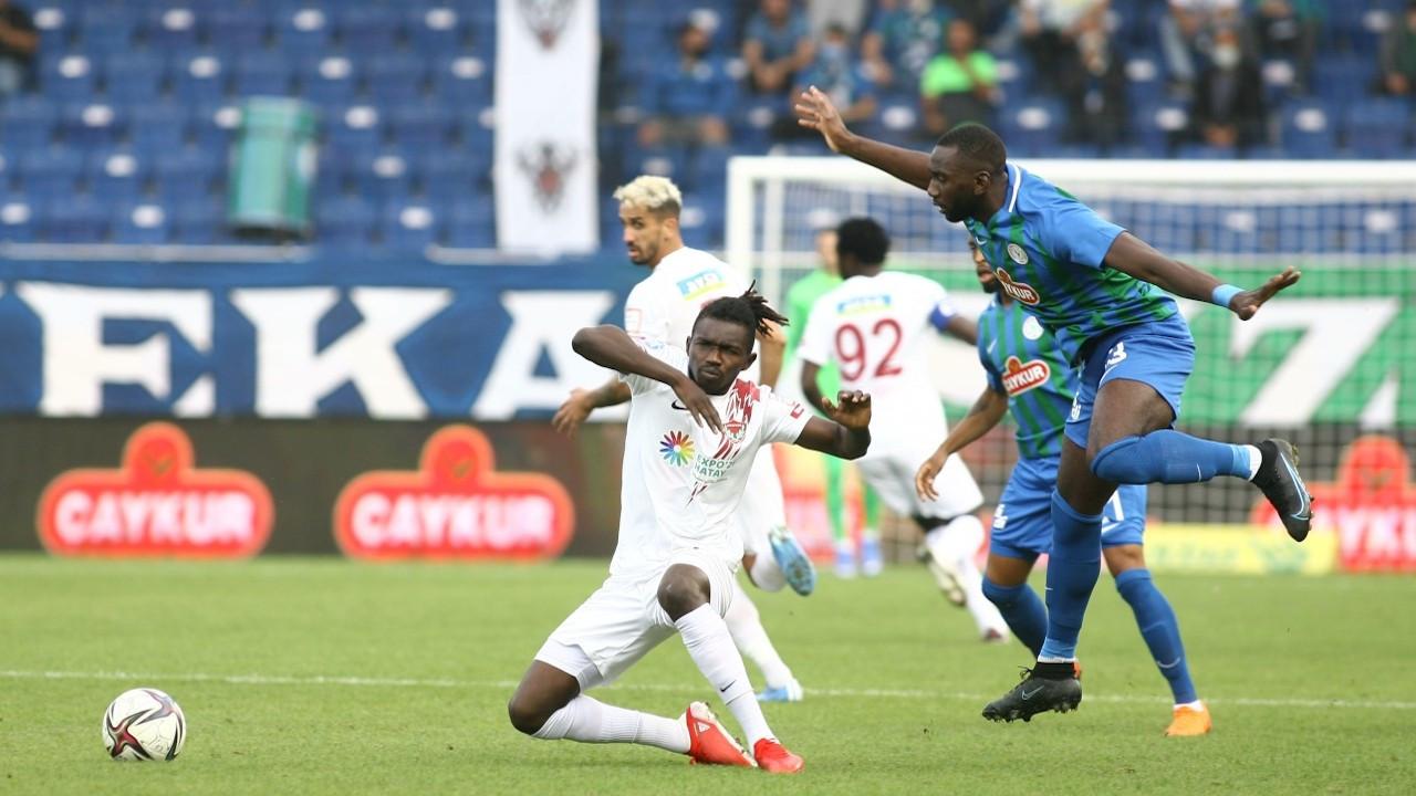 Hatayspor'dan son 10 dakikada iki gol