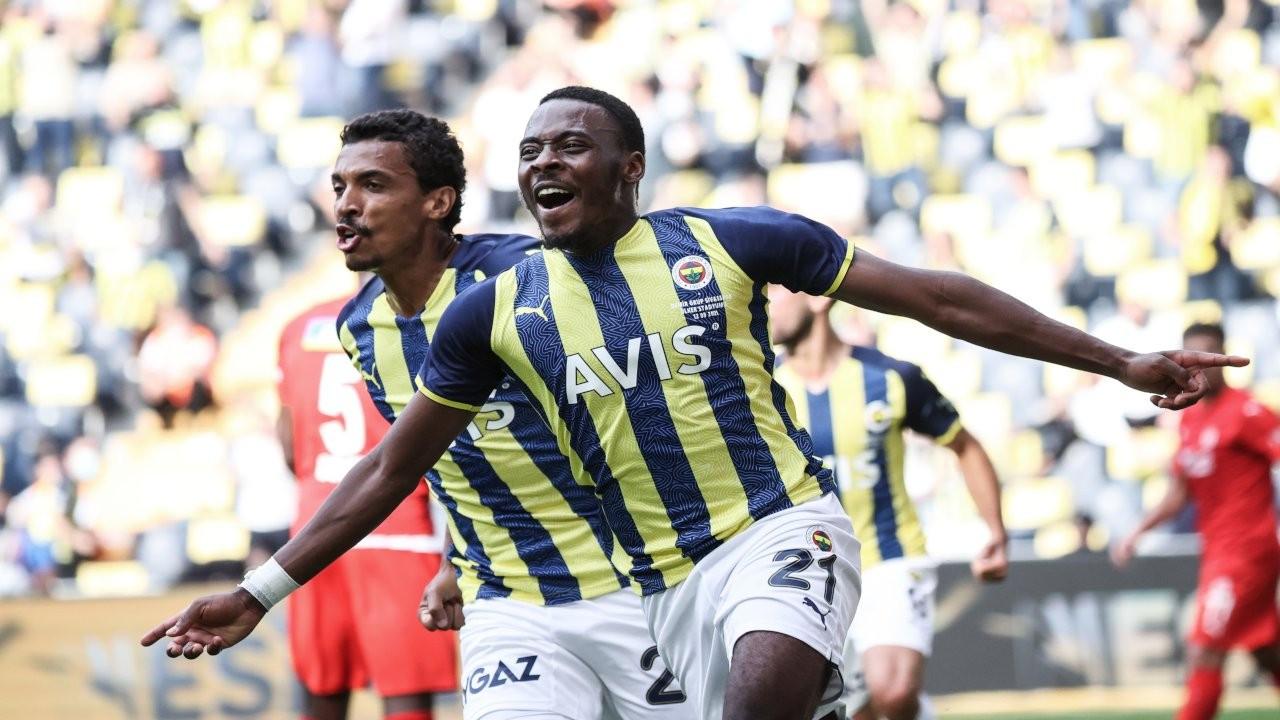 Fenerbahçe - Sivasspor maçı berabere bitti
