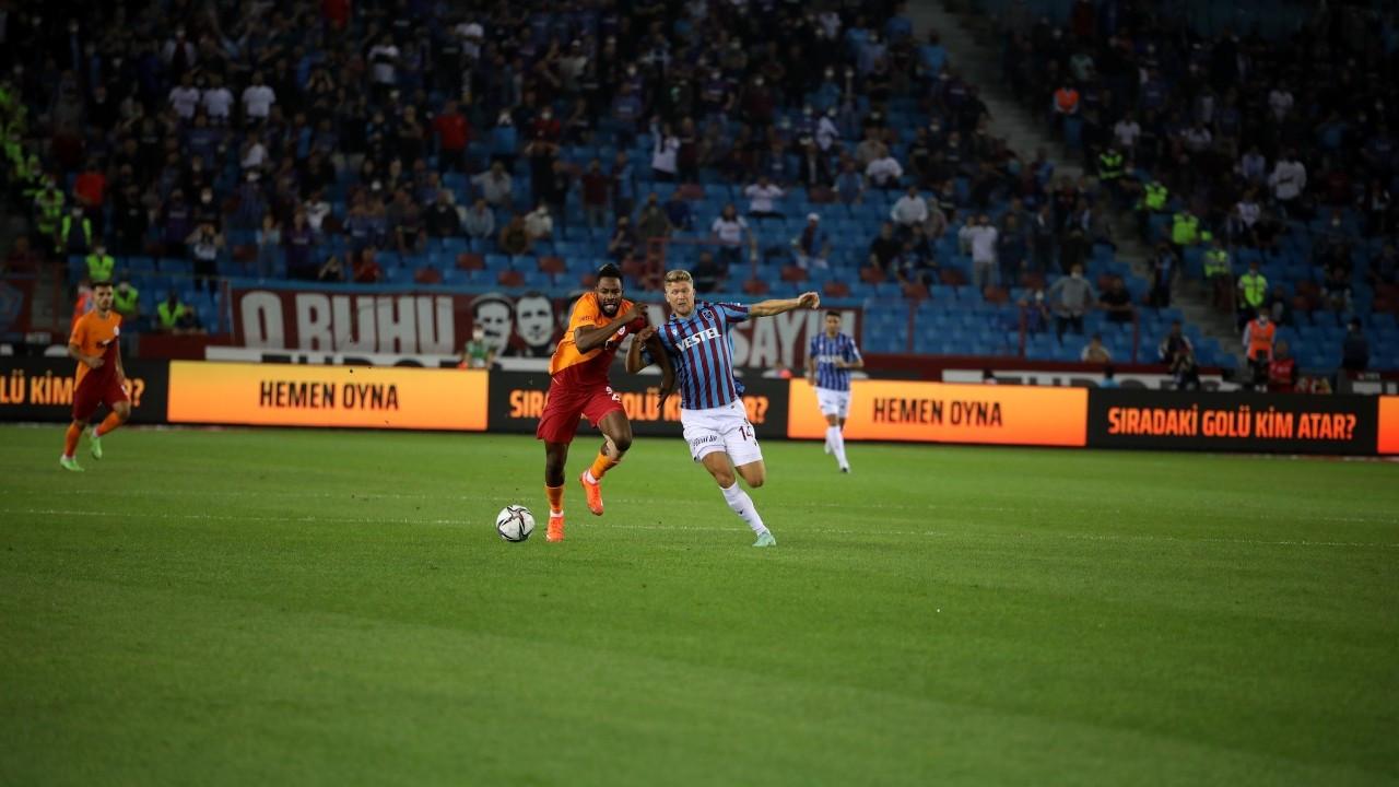 Galatasaray Trabzon'dan beraberlikle dönüyor: 2-2