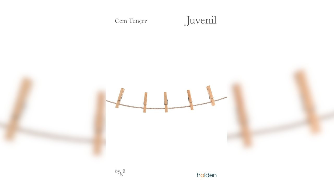 Cem Tunçer'den öykü kitabı: Juvenil