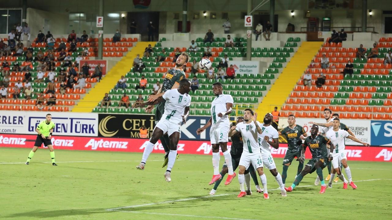 Aytemiz Alanyaspor, Giresunspor'u 1-0 yendi