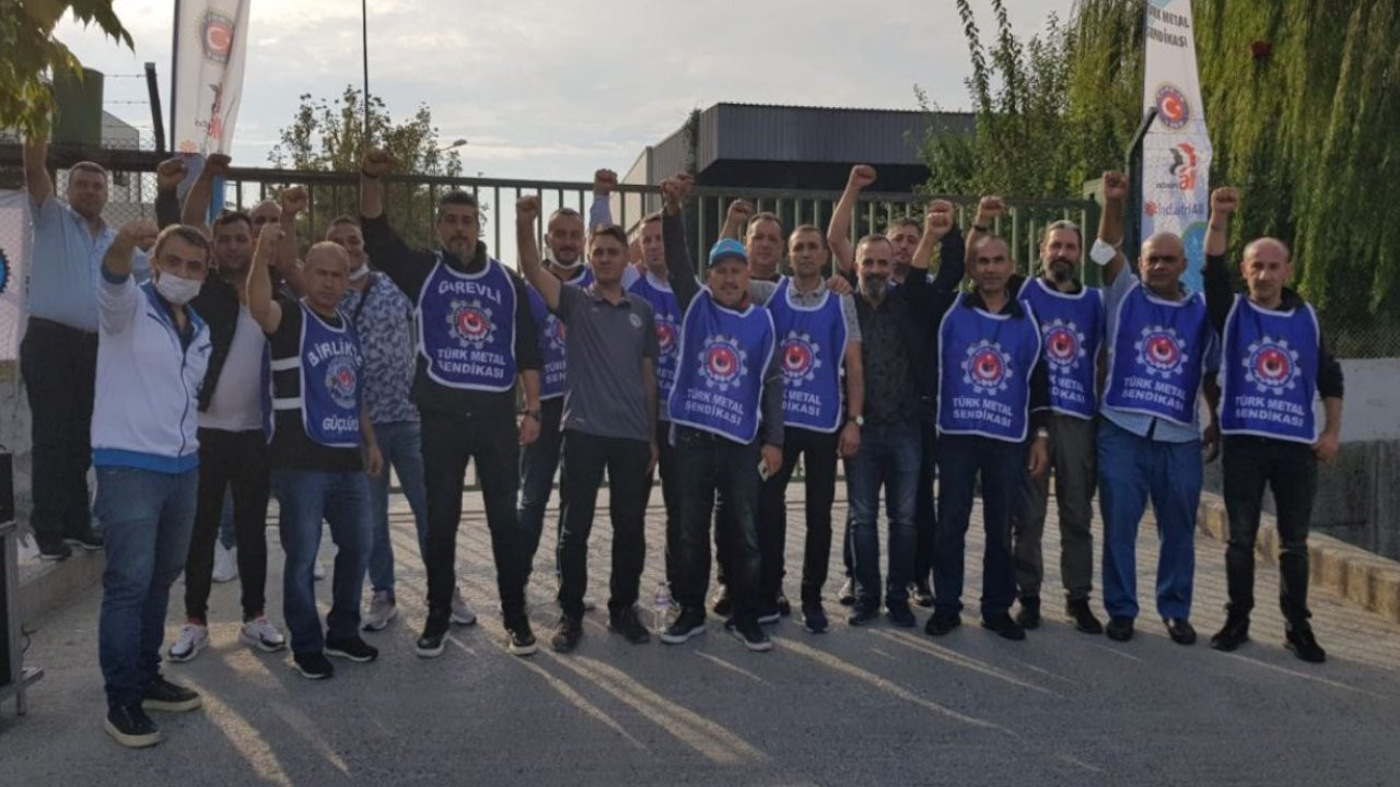 Dega Demir fabrikasında işten atılmalara grevle tepki