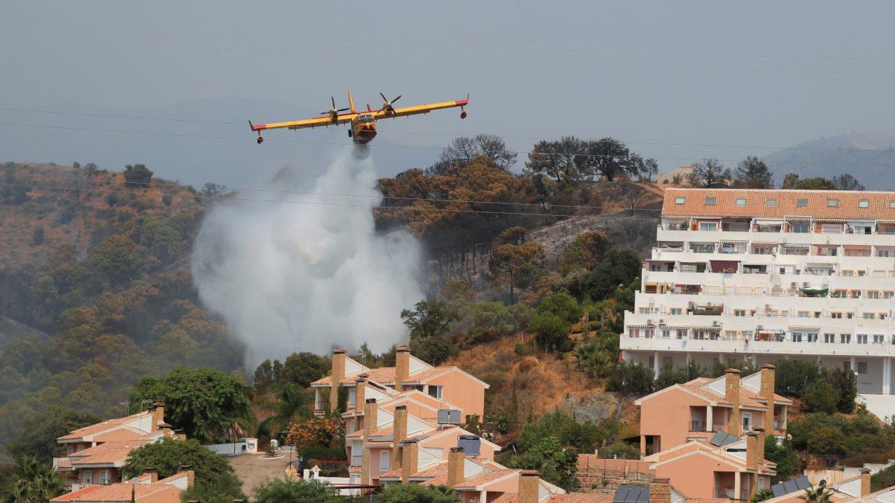 İspanya'da yangınlar: Ordu sahaya indi, 41 hava taşıtı müdahale ediyor