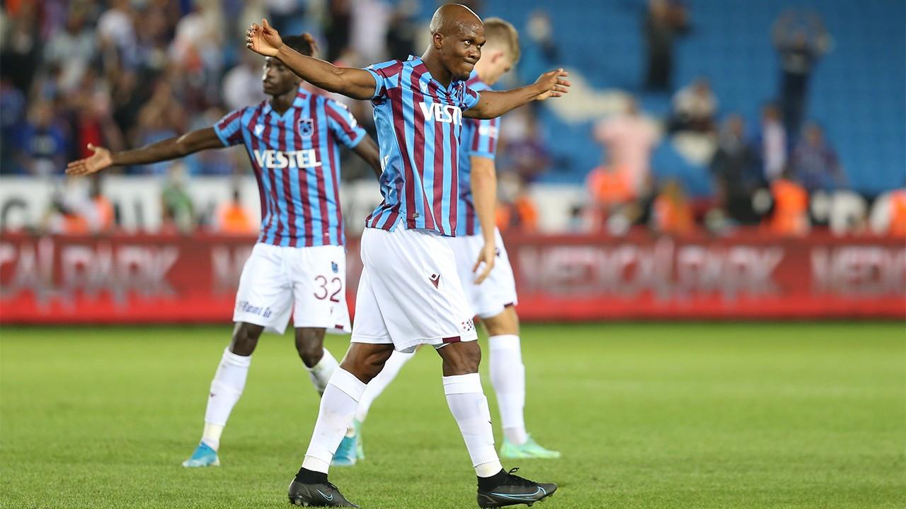 Trabzonspor'da Nwakaeme tarihe geçti