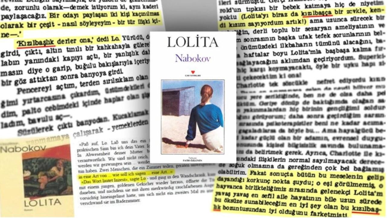 Lolita romanında 'ensest' kelimesini 'kızılbaş' olarak çeviren Fatih Özgüven: Affedilmez bir hata