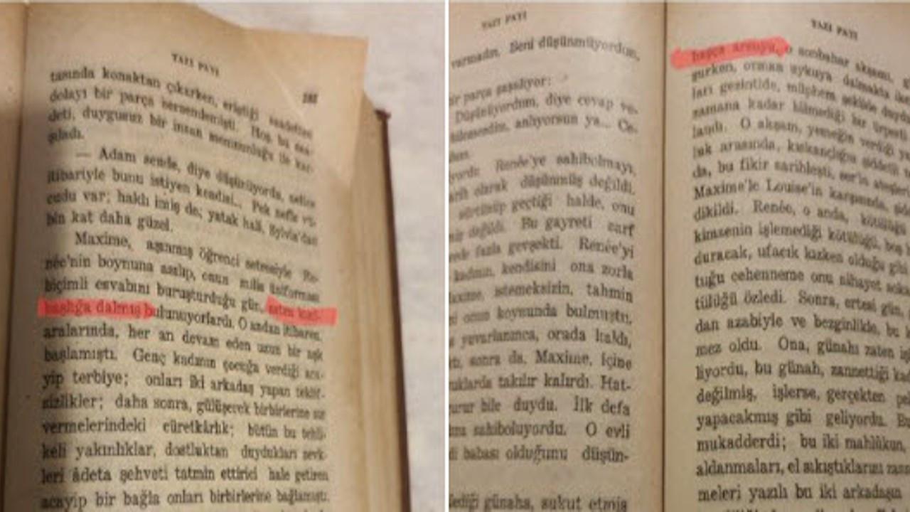 Devletin 1947'de bastığı kitapta da nefret söylemi kullanılmış