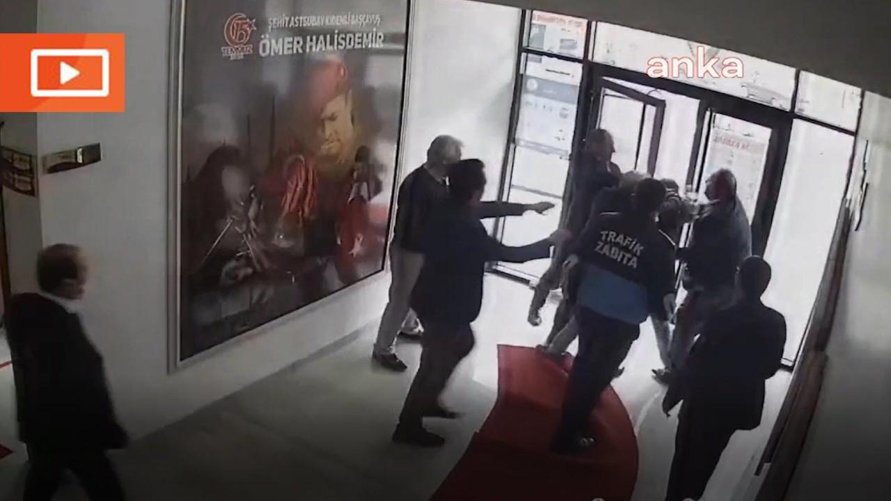 AK Partili başkan, aleyhinde yapılan paylaşımları beğenen kişiyi dövdü