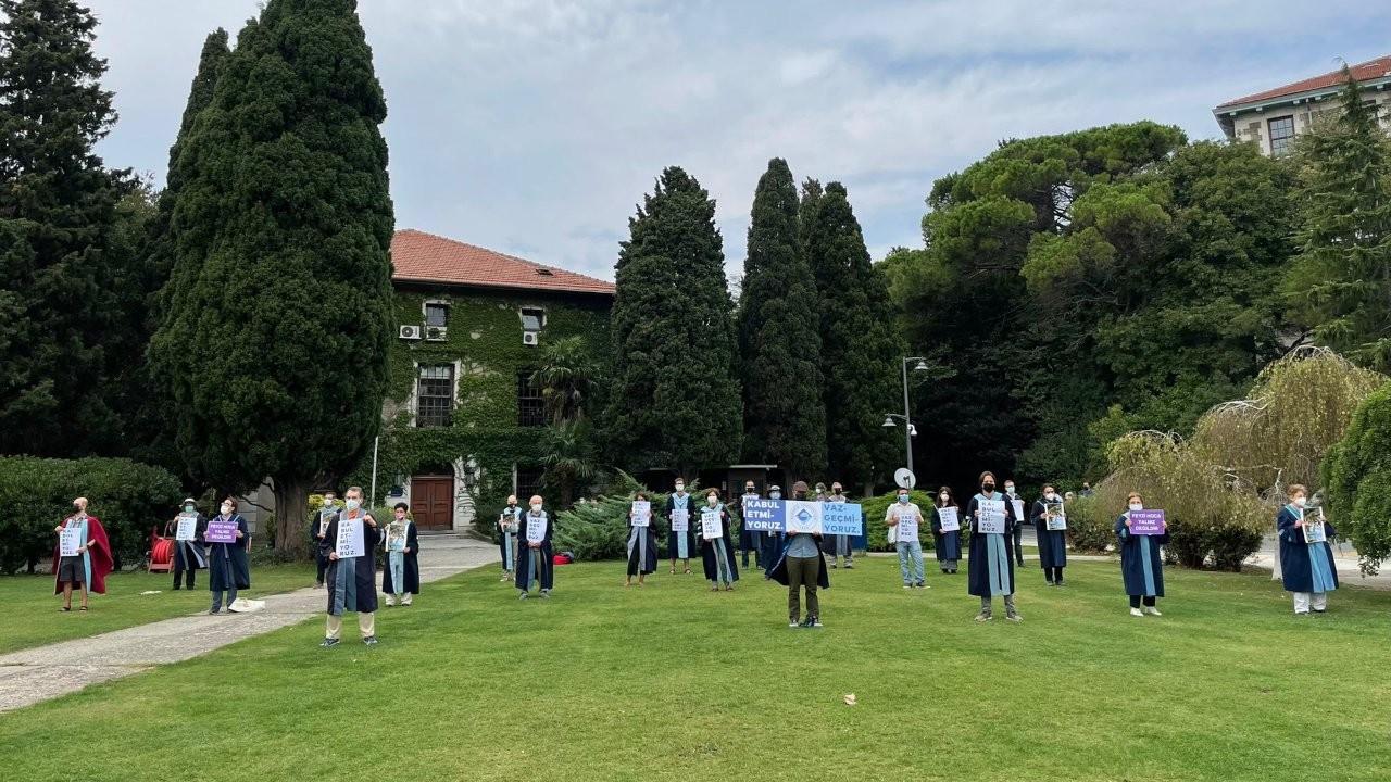 Boğaziçi'nde akademisyenlerin nöbeti 255'inci gününde