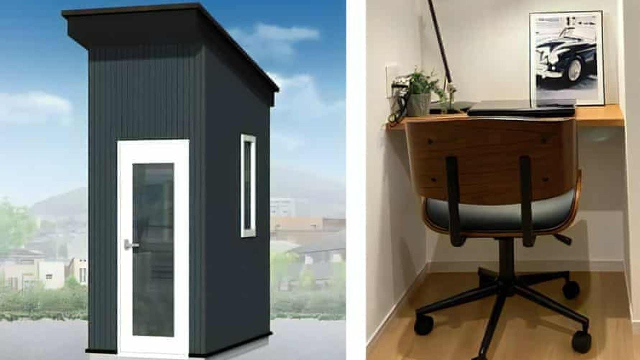 Japonya'da evden çalışanlara özel 'mini ofis kiti' geliştirildi