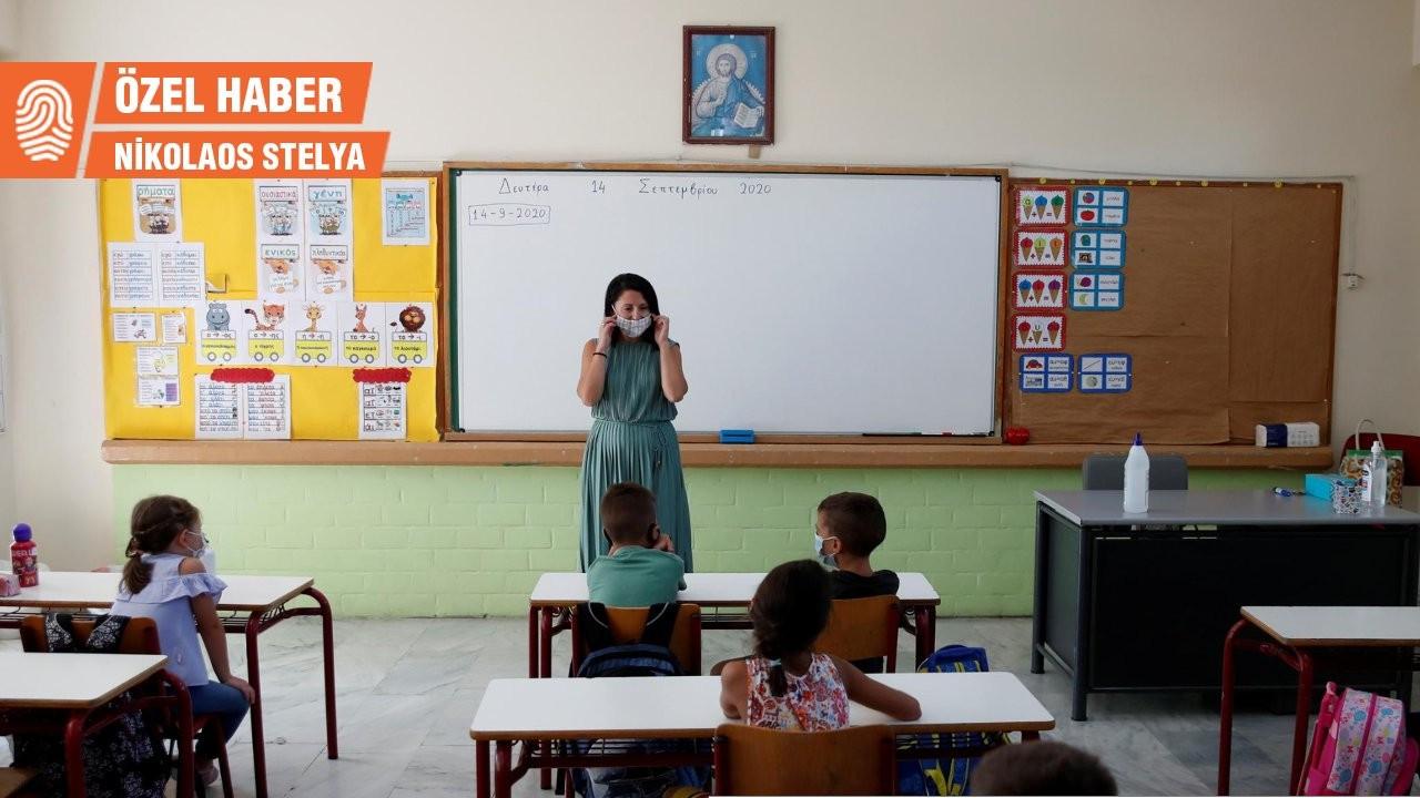 Yunanistan'da okullarda alarm: 3 binden fazla çocuk koronaya yakalandı