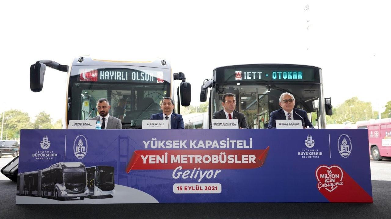 İBB metrobüs için 160 yeni otobüs alıyor