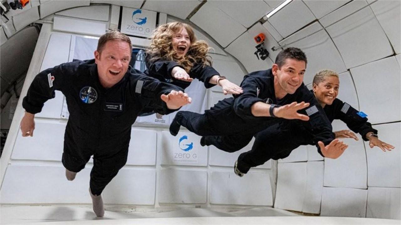 Dört amatör astronotun uzay yolculuğu için geri sayım