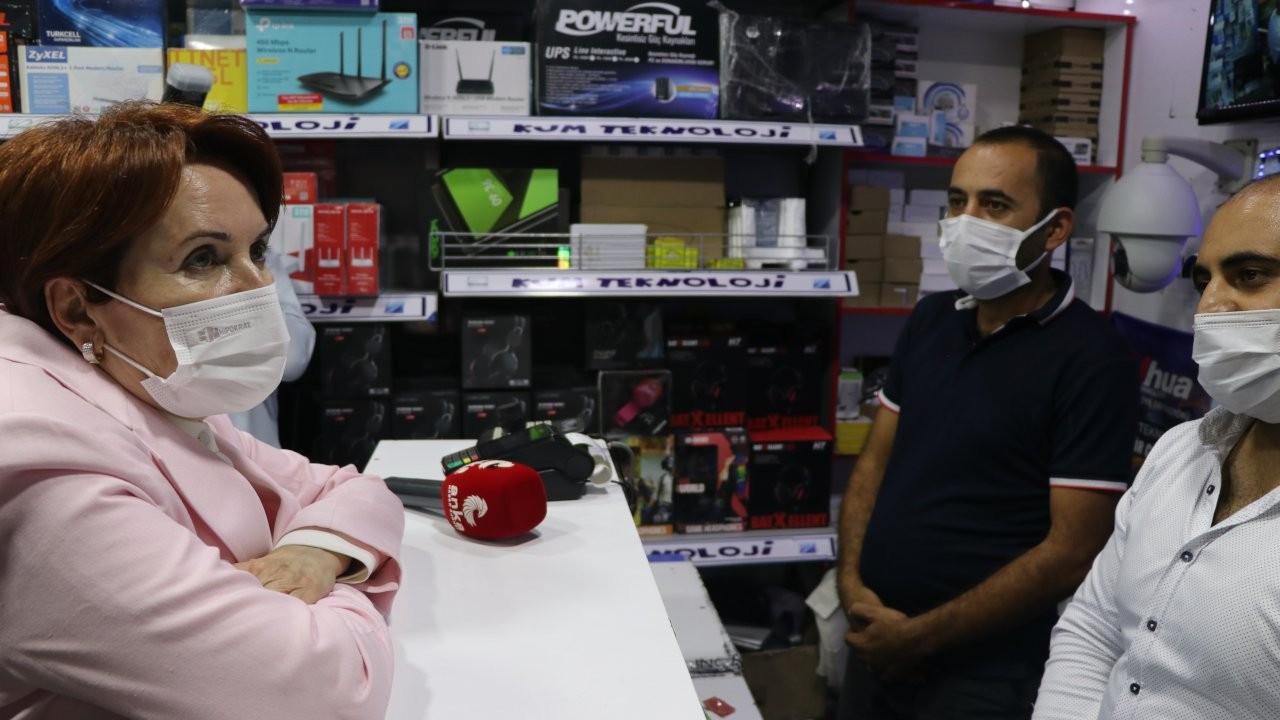 İYİ Parti lideri Akşener: Daha oy isteme kısmına gelemedik