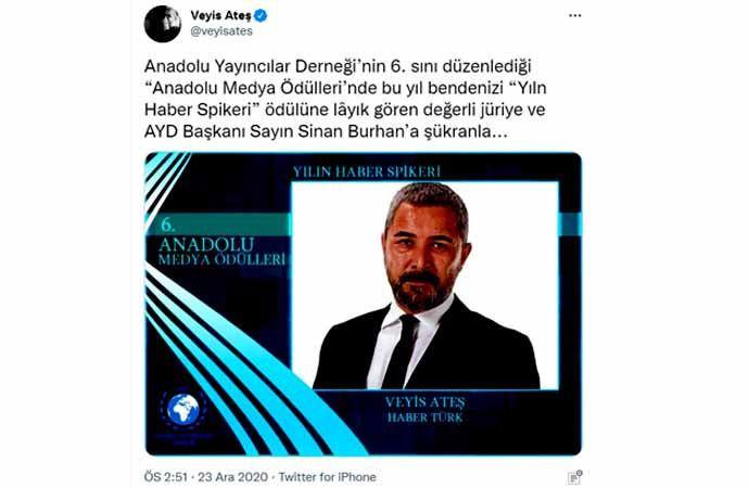 Erdoğan'ın dağıttığı medya ödüllerinde Sedat Peker detayı: Listede var, törende yok - Sayfa 3