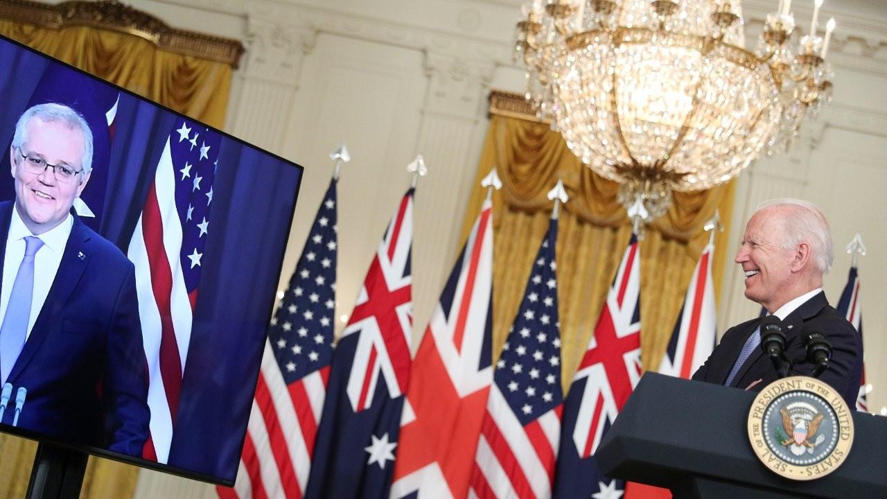 ABD, İngiltere ve Avustralya'dan Çin karşıtı ittifak