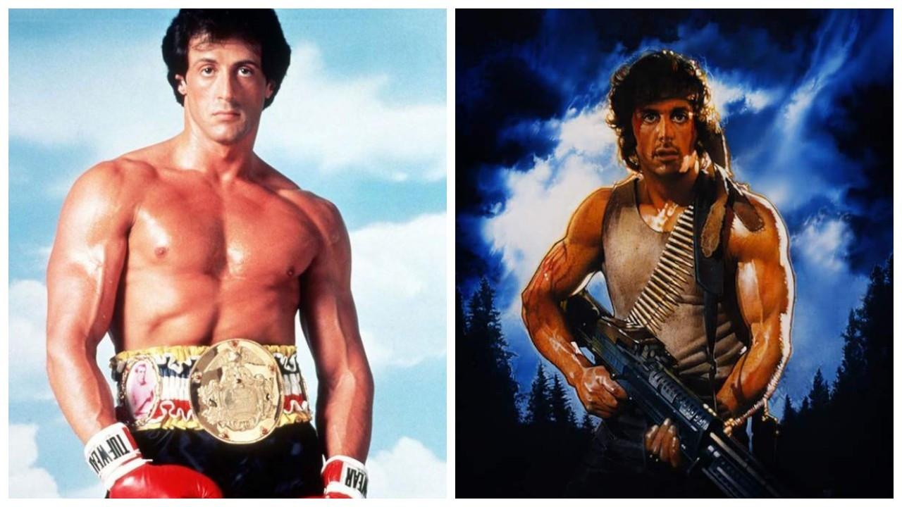 Rocky ve Rambo'nun eşyaları satılıyor