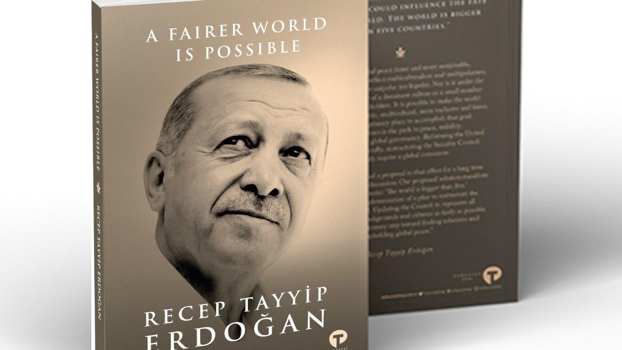 Erdoğan'ın kitabı BM Genel Kurulu'nda: A Fairer World Is Possible