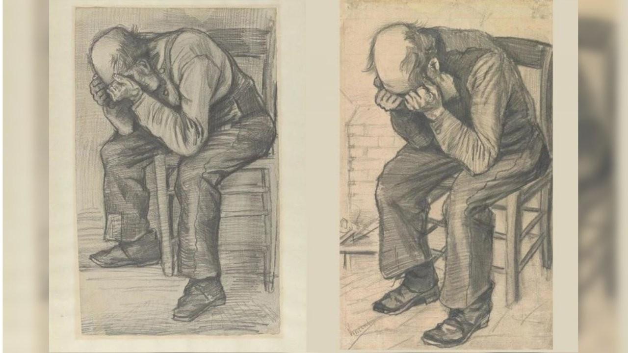 Vincent Van Gogh'un yeni keşfedilen çizimi ilk kez sergilendi