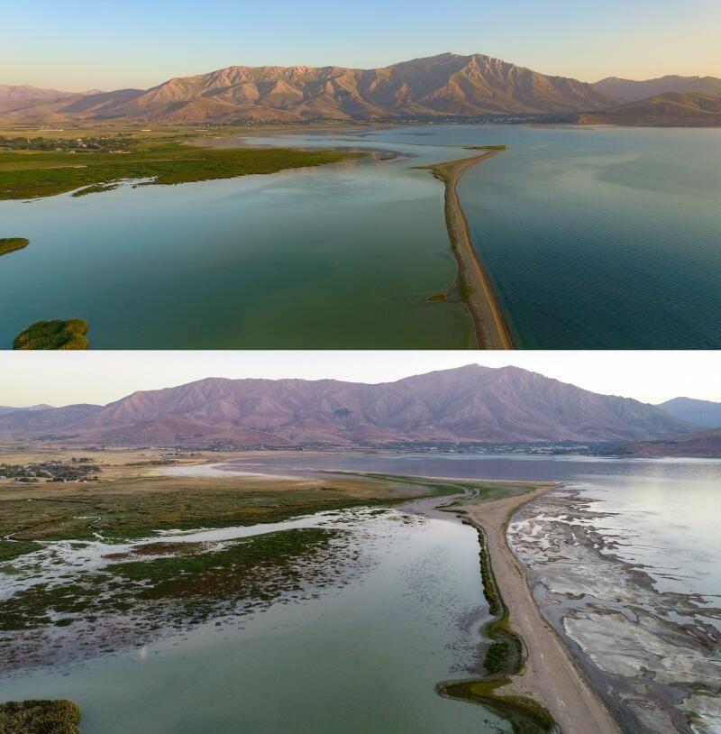 Kuraklık Van Gölü'nü de vurdu: Sular 2 kilometre çekildi - Sayfa 1