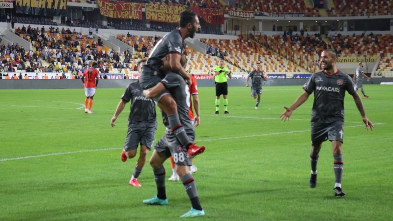 Gol düellosunu Fatih Karagümrük kazandı