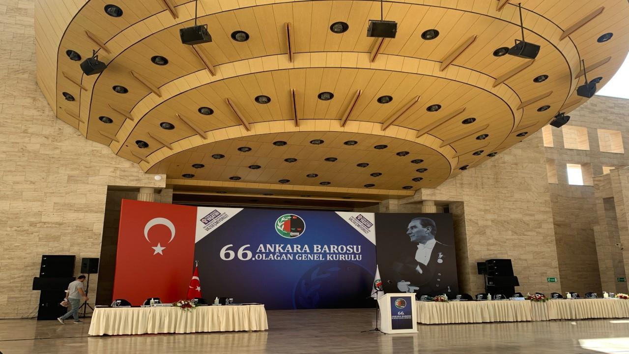 Ankara Barosu seçimleri: 2 bin 84 imza toplanamadı
