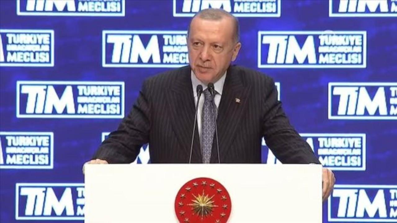 Erdoğan: Yaptığımız işi sadece para olarak görmüyorum
