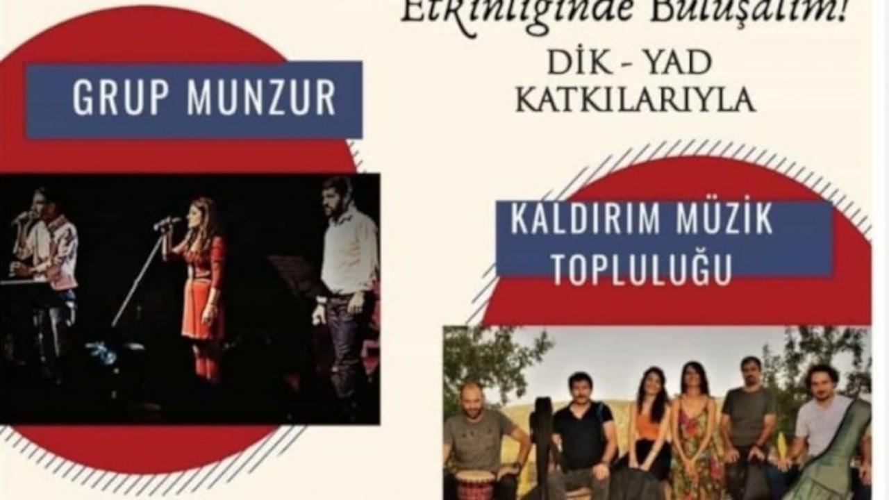 'İhbar var' gerekçesiyle konsere yasaklama