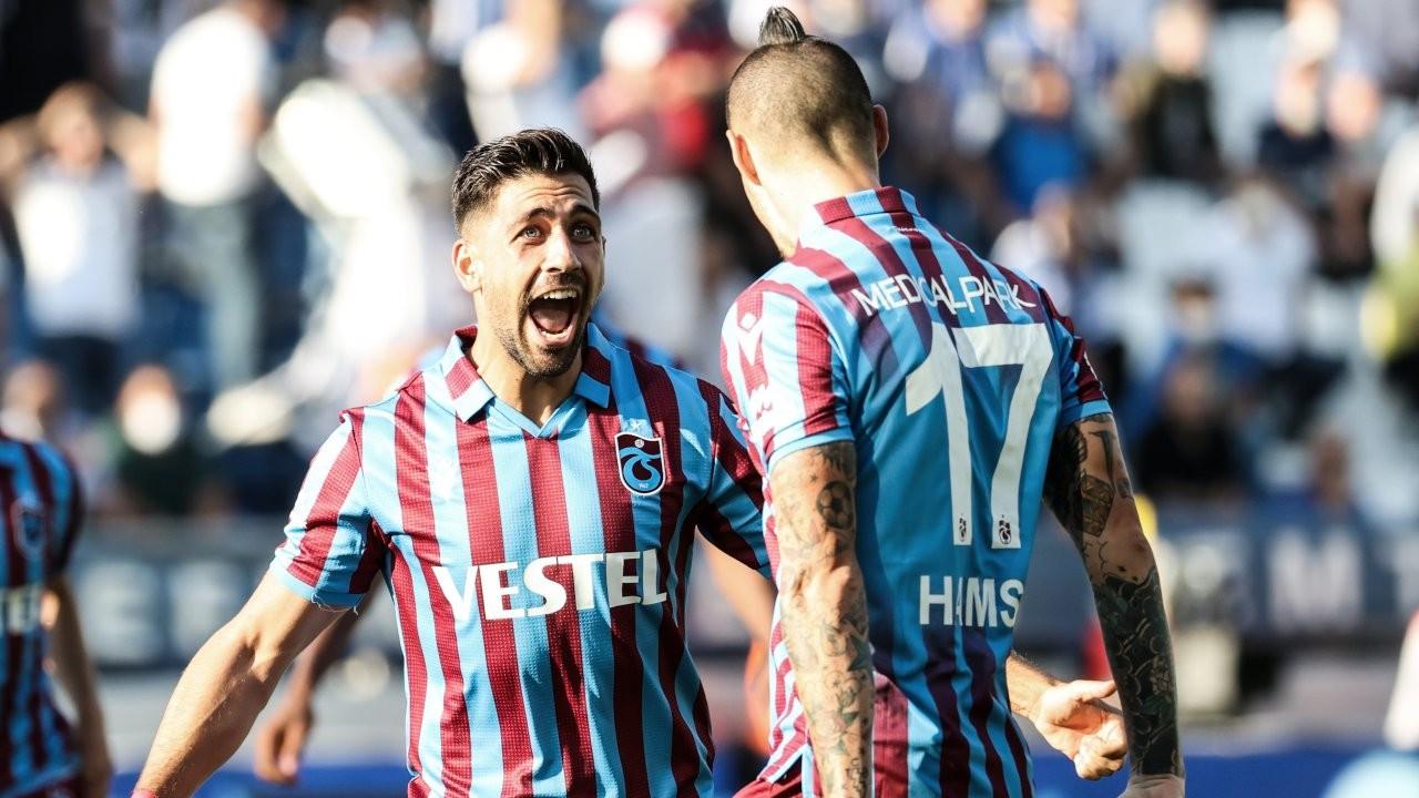 Trabzonspor deplasmanda 3 puana uzandı