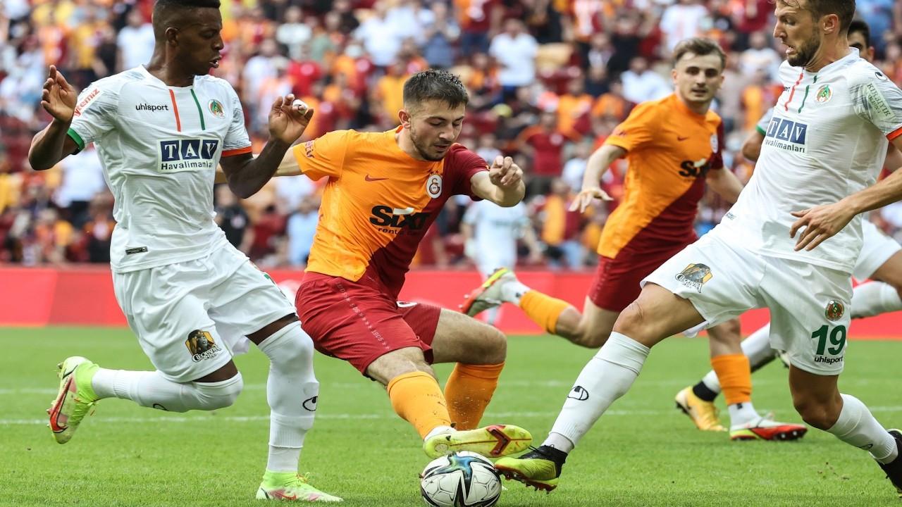 Galatasaray sahasında Alanyaspor'a 1-0 yenildi