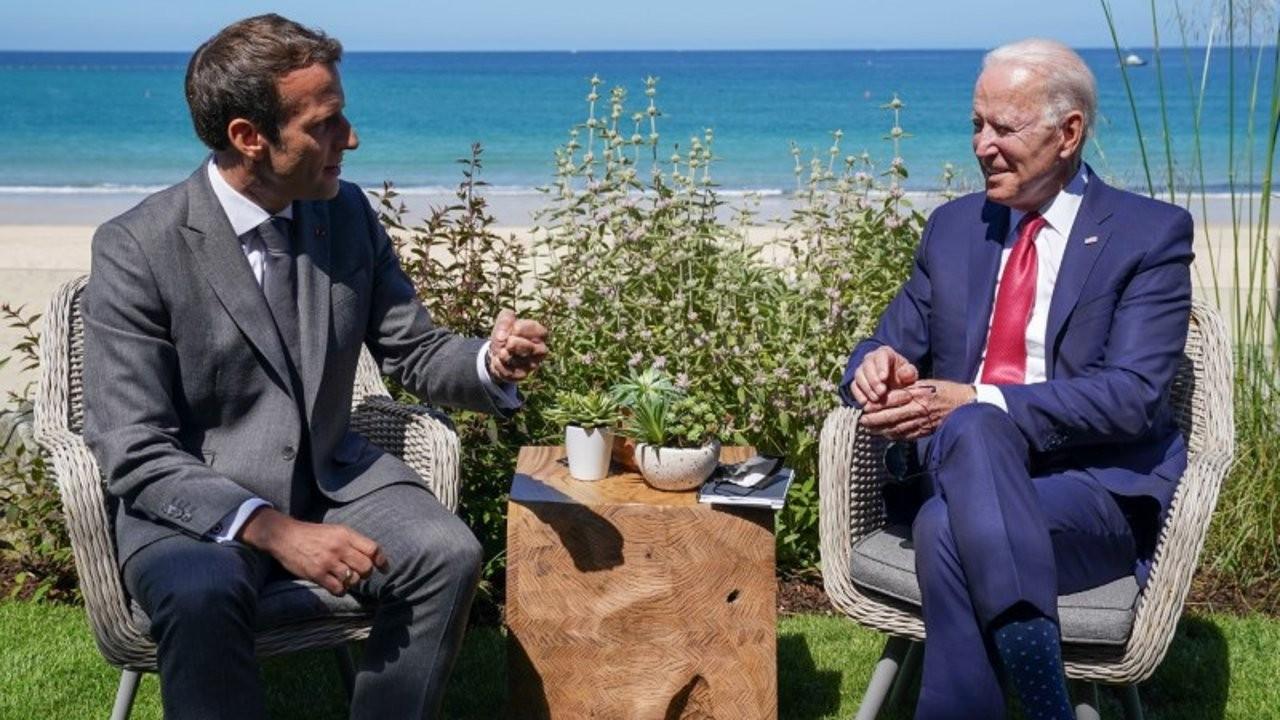 AUKUS krizi: Macron Biden'la görüşecek